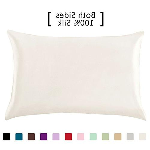 19 momme mulberry silk pillowcase
