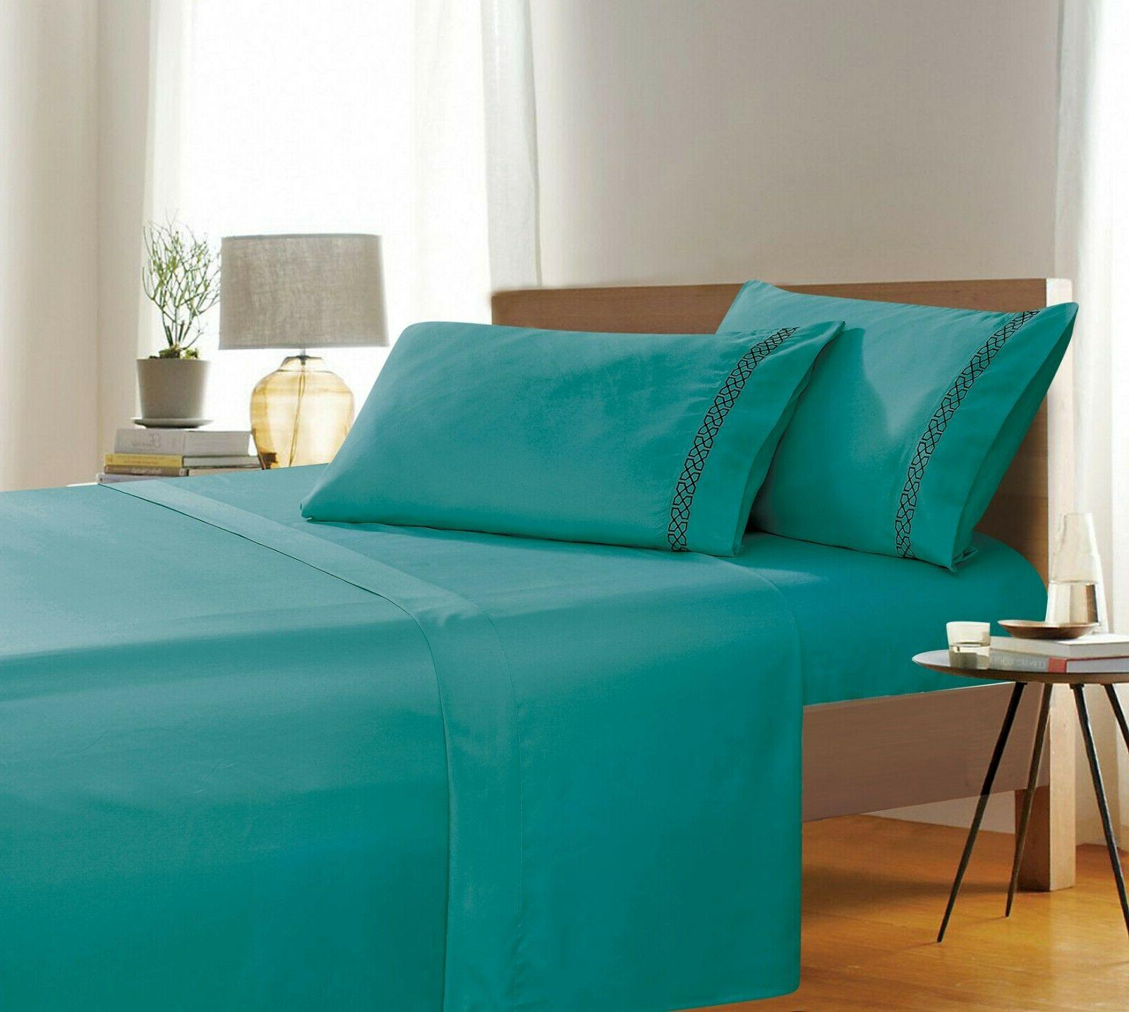 avery collection 4 piece bed sheet