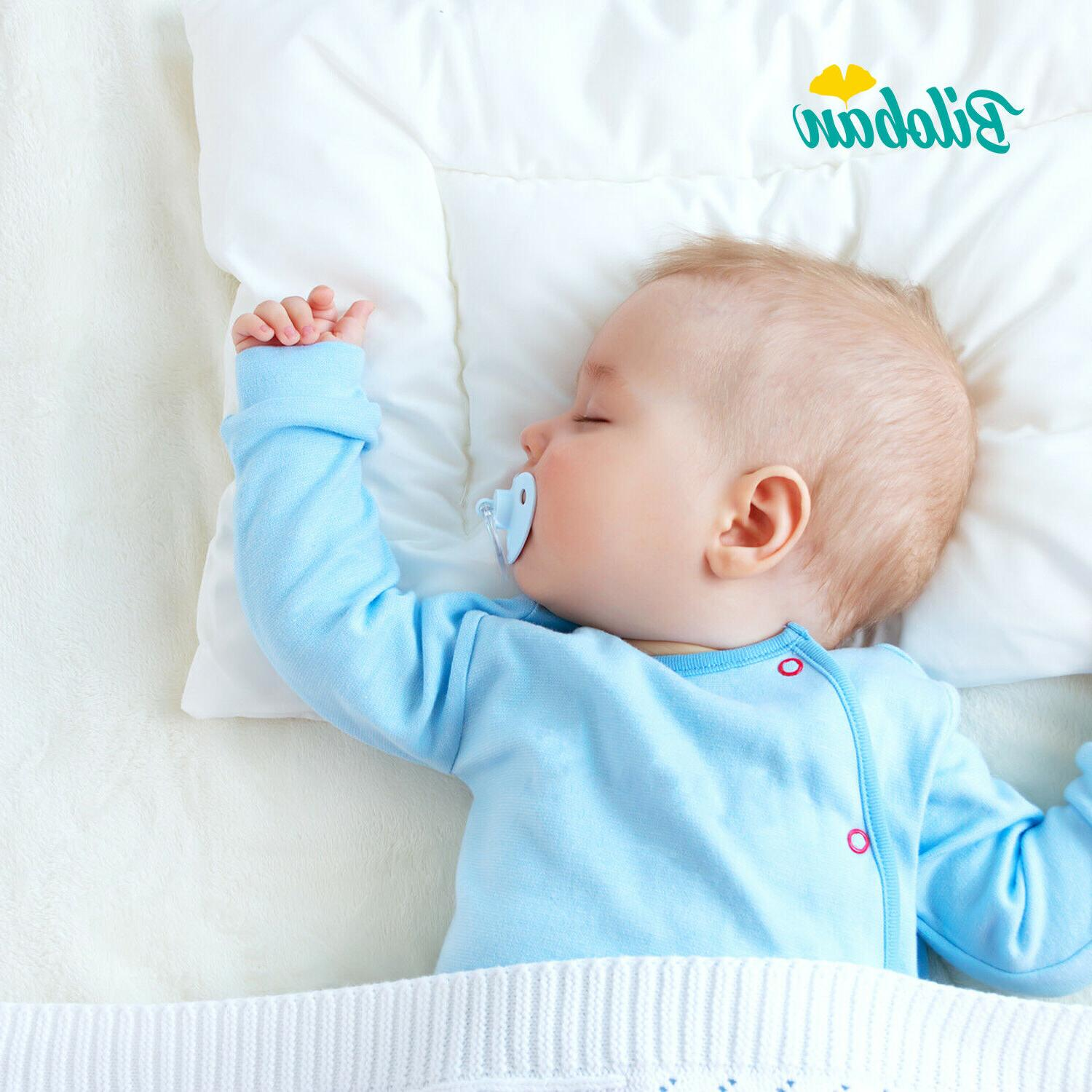 baby newborn pillow with cotton pillowcase suitable