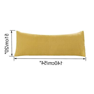 Premium Cotton Zippered Pillow Cases - 2 Pack  - 100% Combed
