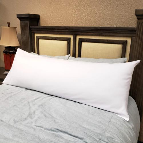 body pillow cover 20x54 100 percent brushed