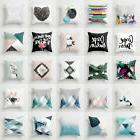 Boho Geometric Polyester Pillow Case Waist Cushion Cover Sof