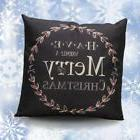 Christmas Letter Sofa Bed Home Decoration Festival Pillow Ca