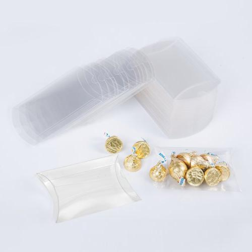 clear plastic pillow