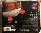 Cleveland Browns NFL Sheet Set Full Flat Fitted Team Logo Be