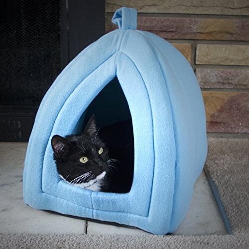 cozy kitty tent igloo plush