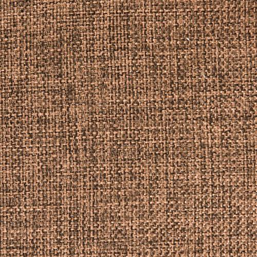 "HOME BRILLIANT Spring Linen Square Pillow Case Cover Sofa, Brown, 18"" 18"""