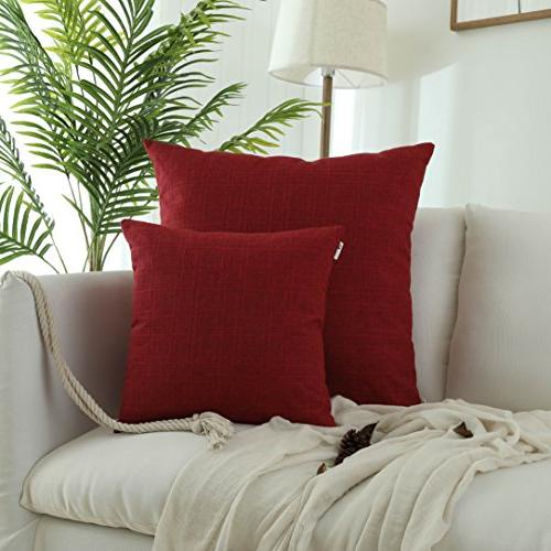 decorative linen pillowcases