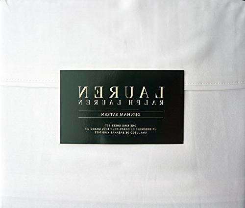 dunham sateen cotton sheet set
