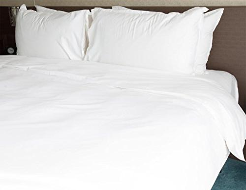 2 100% Percale Wholesale Bulk Pillowcases for Silk Screening, Hotels, Camps, Parties, Physical