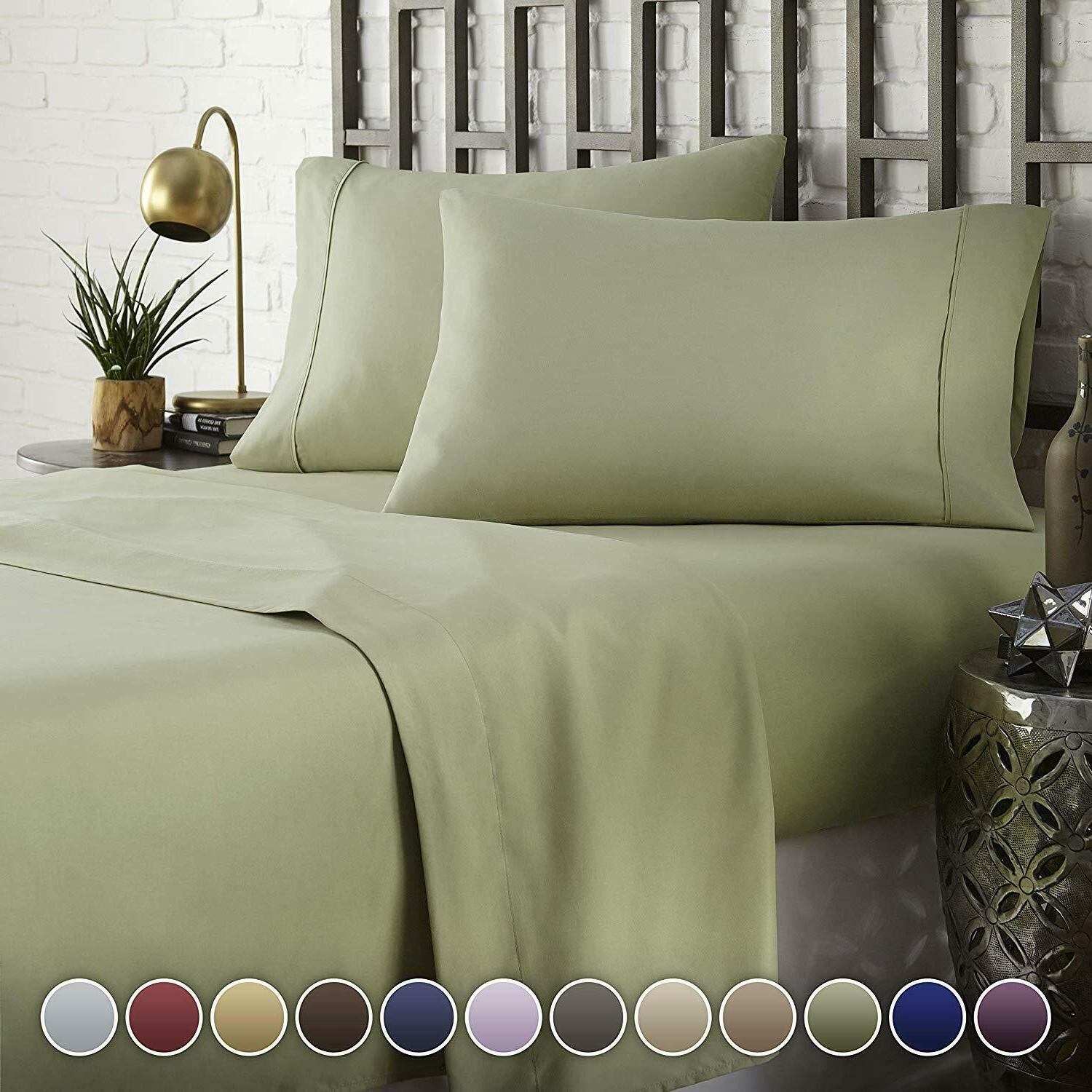 Hotel Bed Sheets Hypoallergenic Pillowcase