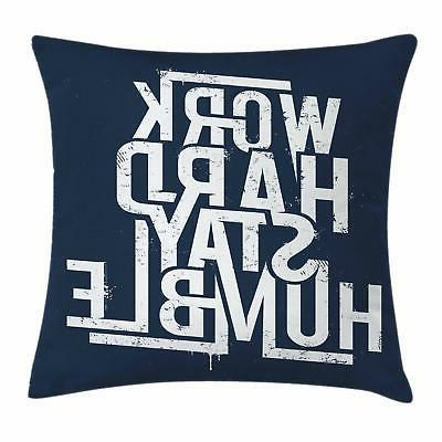 Inspirational Throw Pillow Cases Cushion Covers Ambesonne Ac