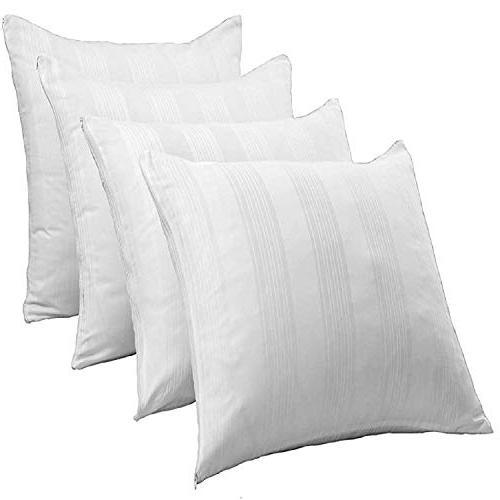 Allergy ❤ 100% Cotton Life Replacement Count Zippered White Covers