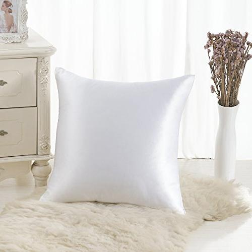 mulberry silk throw pillowcase