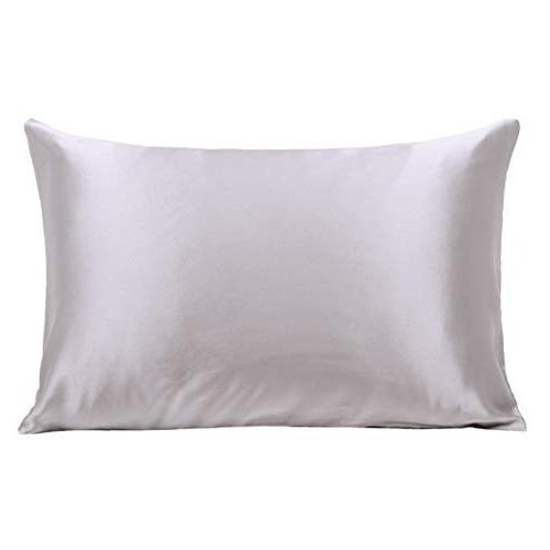 100% Pure Silk 21 Momme Skin Hypoallergenic Breathable Sides 20×26inch,