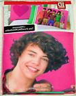 NIP Licensed 1D One Direction Boy Band Harry PINK HEART Reve