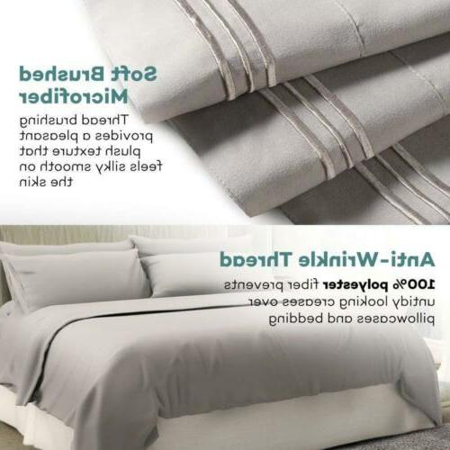 DEEP BAMBOO BED SUPER SOFT SET