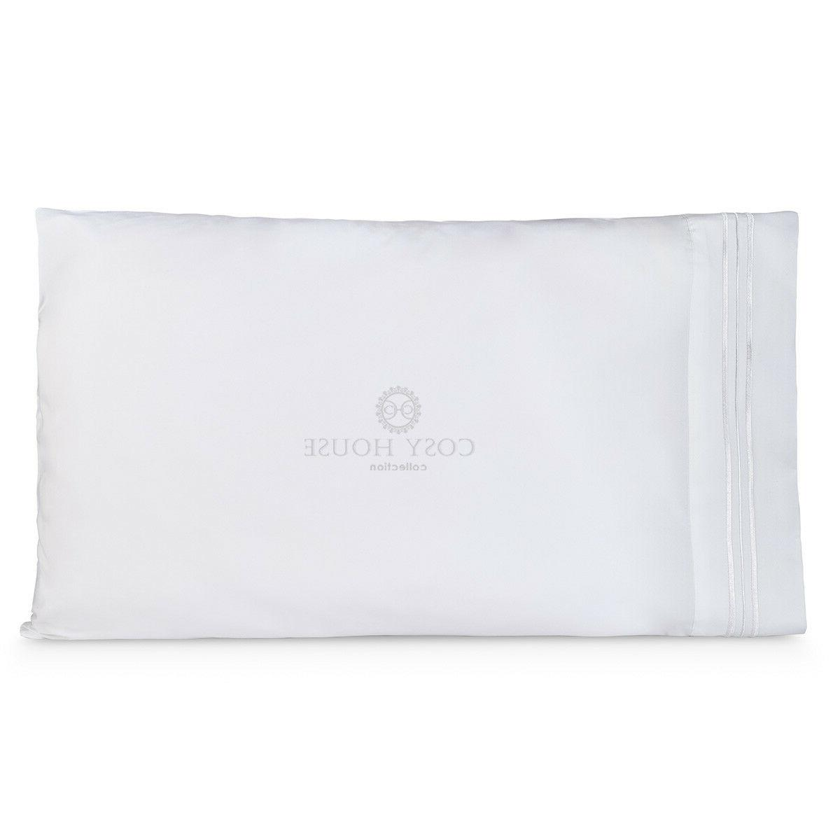 Cosy 1500 Ultra Soft of 2 King Size Pillowcases