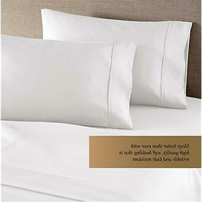 Pillowcases Collection Thread Egyptian 2pc Set Of