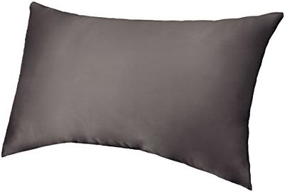 pinzon mulberry silk pillowcase queen graphite