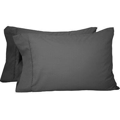 premium 1800 king pillowcase set 2 pack