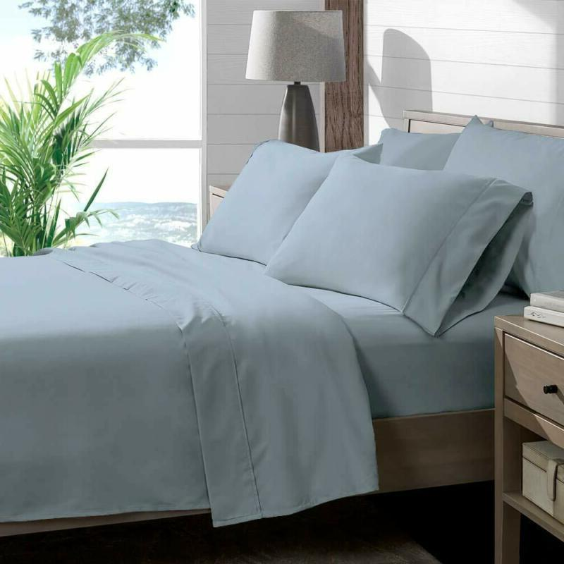 Bare Home Set - Ultra-Soft Microfiber Bed Sheets - Double Brush