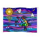 "CafePress - Sea Turtle #4 - Standard Size Pillow Case, 20""x3"