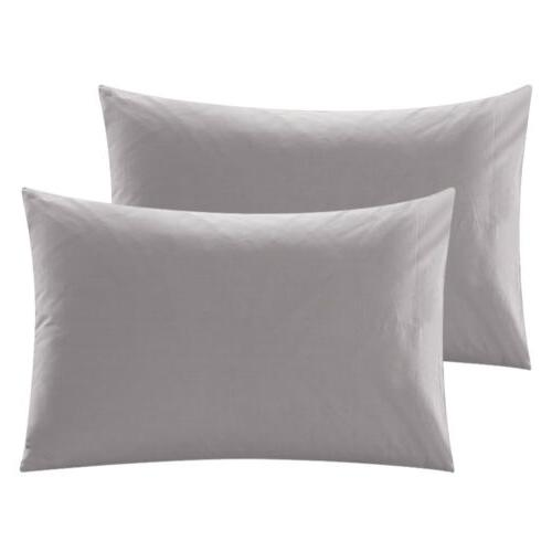 2Pcs Bed Pillow Pillowcases King