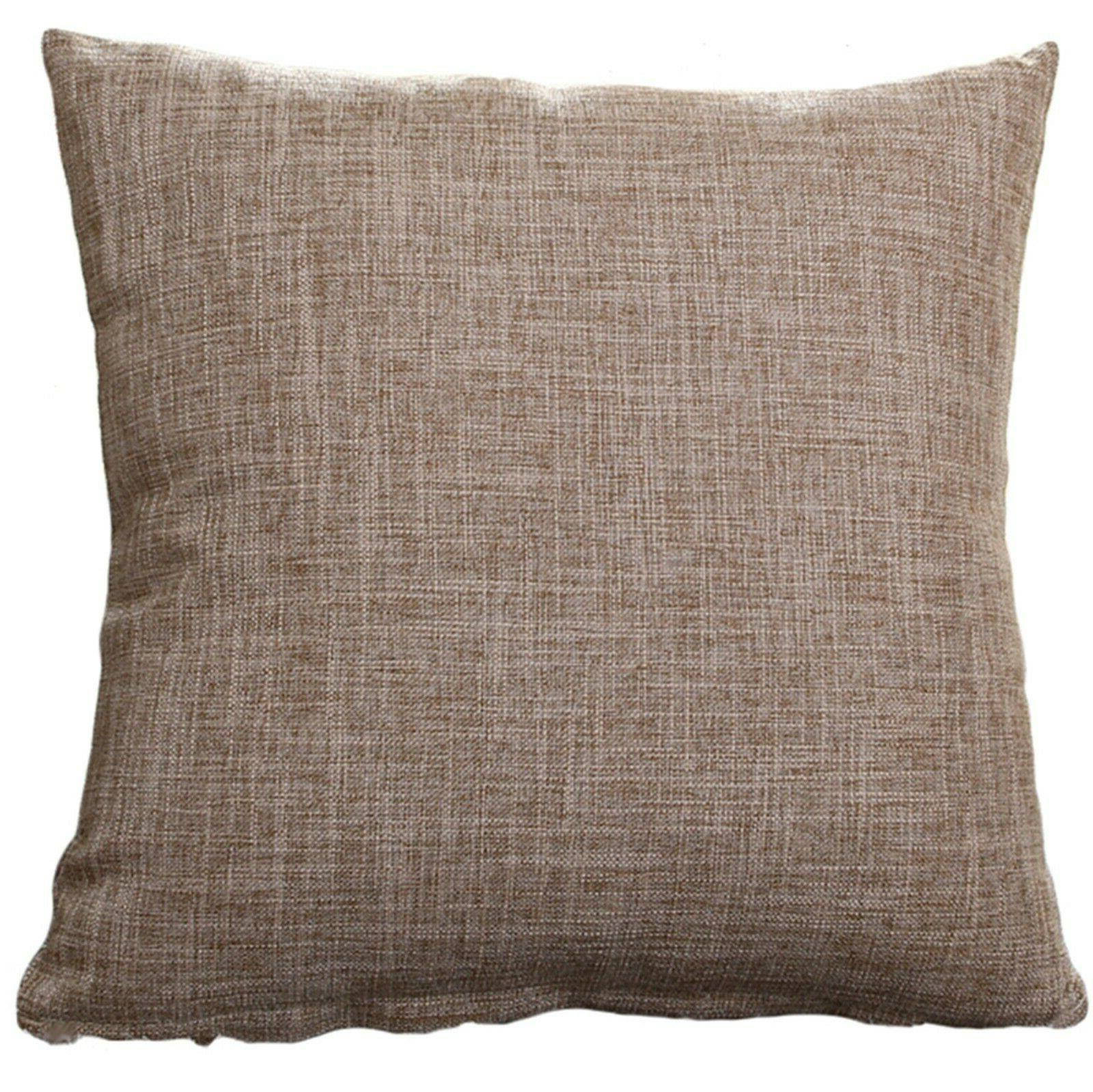 """Set Of Throw Pillow Case Cover Case 20"""" x 20"""" solid"""