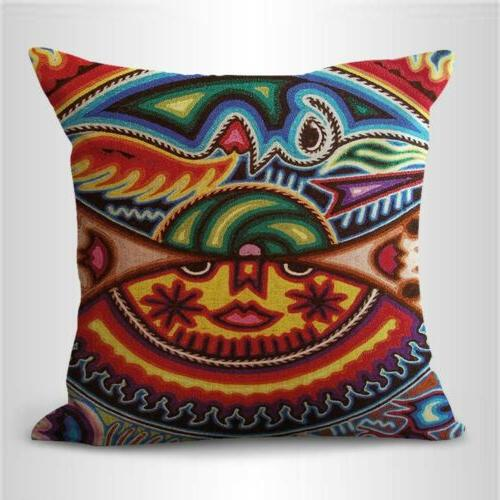 set art Mexican covers pillow