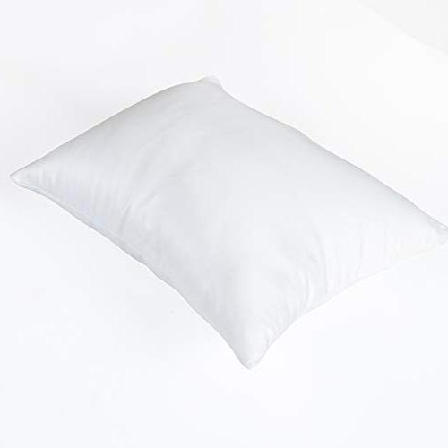 """NTBAY Travel Pillowcases of 2, Pillow Case Cover with Hidden Zipper, Super Soft Luxury Bedding, 13""""x 18"""""""