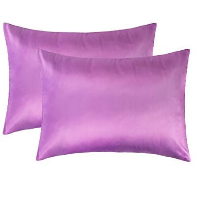 NTBAY Silky Satin Toddler Travel Pillowcases Set of 2, Pillo