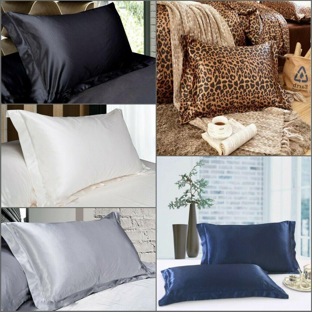 smooth silk y satin room bedding pillow