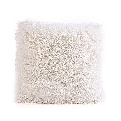 soft soild pillow covers case