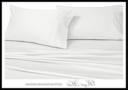 Solid White King Pillowcases, 2PC Pillow Cases, Count, Royal Hotel