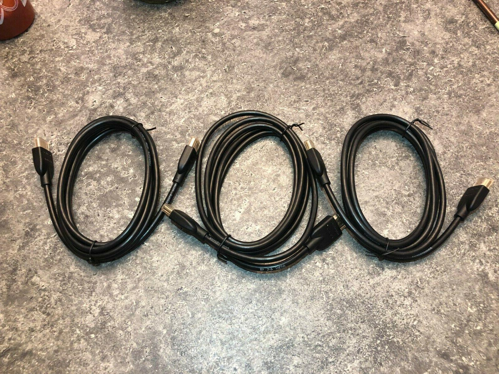 AmazonBasics High-Speed HDMI Cable - 6 Feet  Single Pack