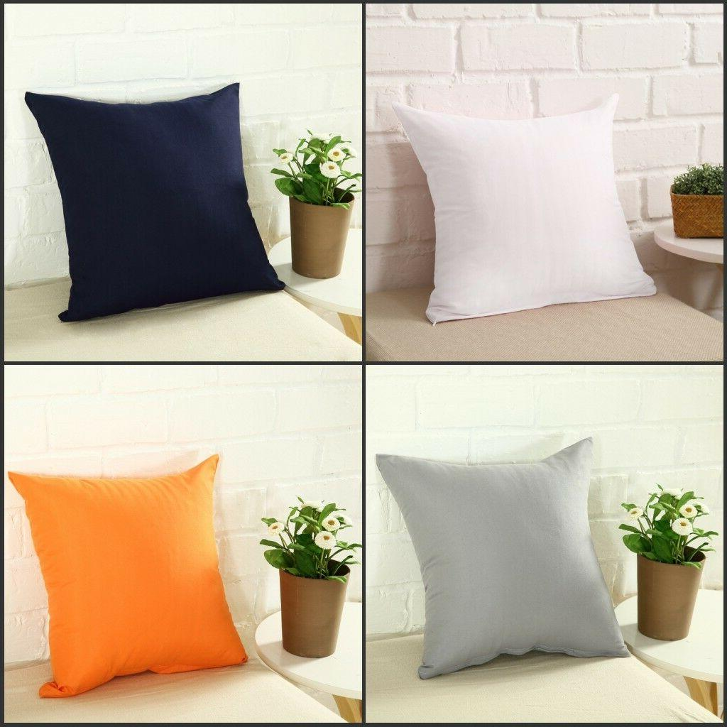 "Square Home Pillow Cover Cushion Cover 16x16"" 18x18"""
