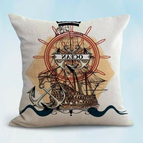 us seller anchor dragonfly butterfly decorative pillow