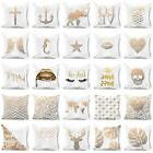 Wing Letter Star Throw Pillow Case Sofa Cushion Cover Home O