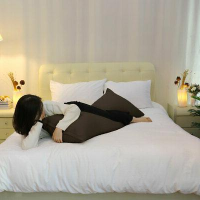 Zippered Body Cover Soft Pillowcases