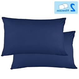 Adoric Life Queen Pillow Cases Set of 2, 100% Brushed Microf