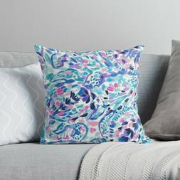 Lilly Pulitzer Turtle Pattern Pillow Case Two Side, Floral P