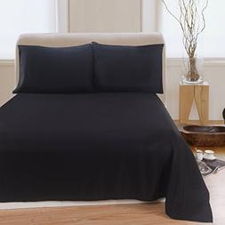 Lullabi Linen 100% Brushed Soft Microfiber Bed Sheet Set, Fi
