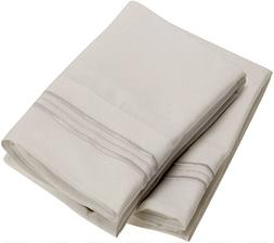 Harmony Linens Pillowcase Set - 1800 Double Brushed Microfib