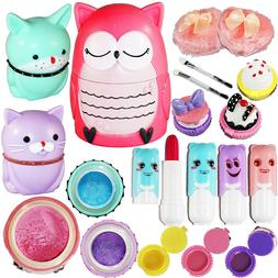 Make Up Kit Gift Set For Girls Kids Non Toxic Washable Makeu