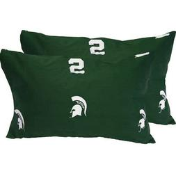 Michigan State Spartans Printed Pillow Case