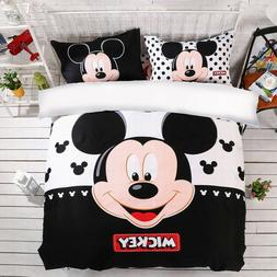 Mickey Mouse Duvet Cover Set Twin Full Queen King Size Beddi
