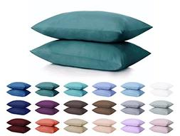 DreamHome Microfiber Pillowcases, Set of 2