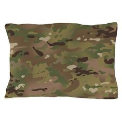 CafePress Military Camouflage Pattern Pillow Case