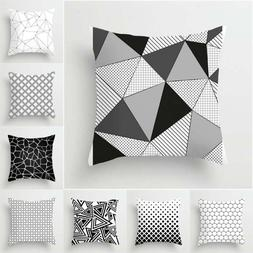 Modern Geometric Cushion Cover Pillow Case Home Sofa Waist T